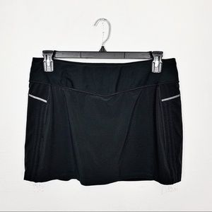 Lucy Black Athletic Skirt Skort Size Large